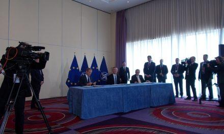 Declarație comună NATO-UE semnată la Varșovia