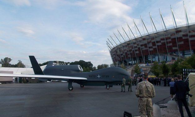 Spectacol aerian la summitul N.A.T.O. din Varșovia