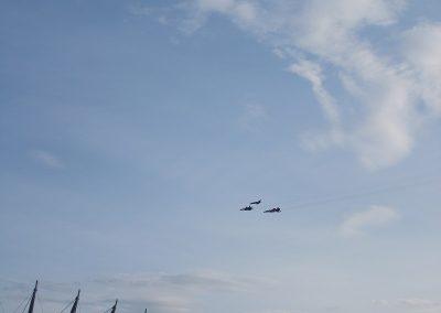Spectacol aerian la summitul N.A.T.O.