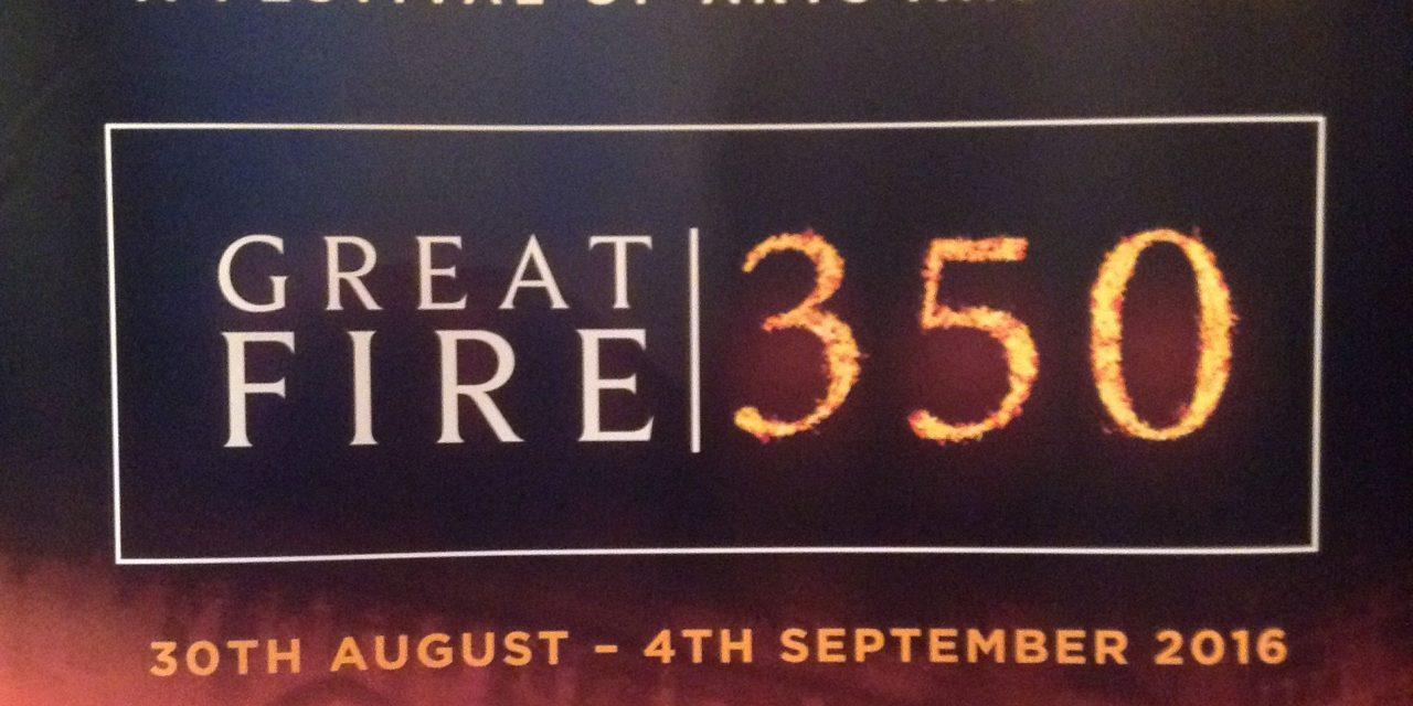 Comemorarea a 350 de ani de la marele foc al Londrei din 1666
