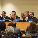 Secretarul-General al ONU a participat la reuniunea Comisiei pentru consolidarea păcii condusă de reprezentantul permanent al României la ONU