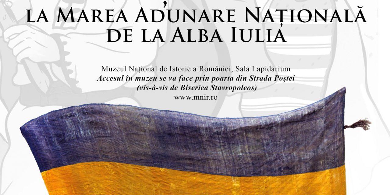 Exponatul lunii noiembrie 2018, la Muzeul Național de Istorie a României:  Steagul delegaţiei comunei Lupşa la Marea Adunare Națională de la Alba-Iulia din 1 decembrie 1918