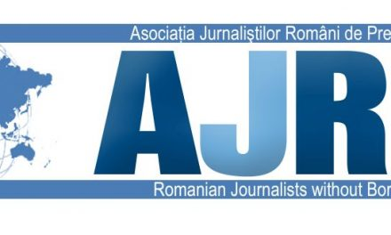 COMUNICAT AL ASOCIAŢIEI JURNALIŞTILOR ROMÂNI DE PRETUTINDENI (AJRP)