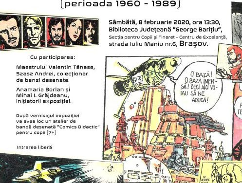 """Maeștri ai benzii desenate science – fiction românești"", perioada 1960-1989"