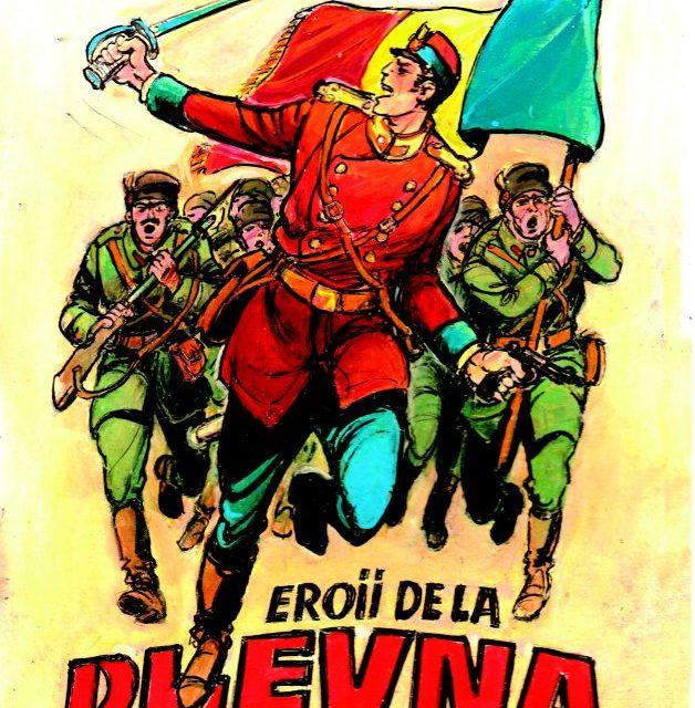 """Lansarea albumului de bandă desenată """"Eroii de la Plevna"""""""