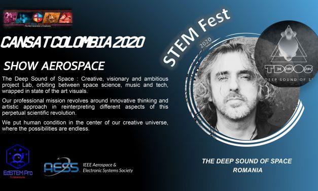 Un român la Conferinţa Internaţională Cansat COLOMBIA 2020 SHOW AEROSPACE