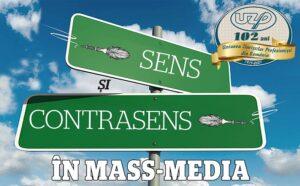 """U.Z.P.R. lansează concursul profesional """"Sens și contrasens în mass-media"""""""