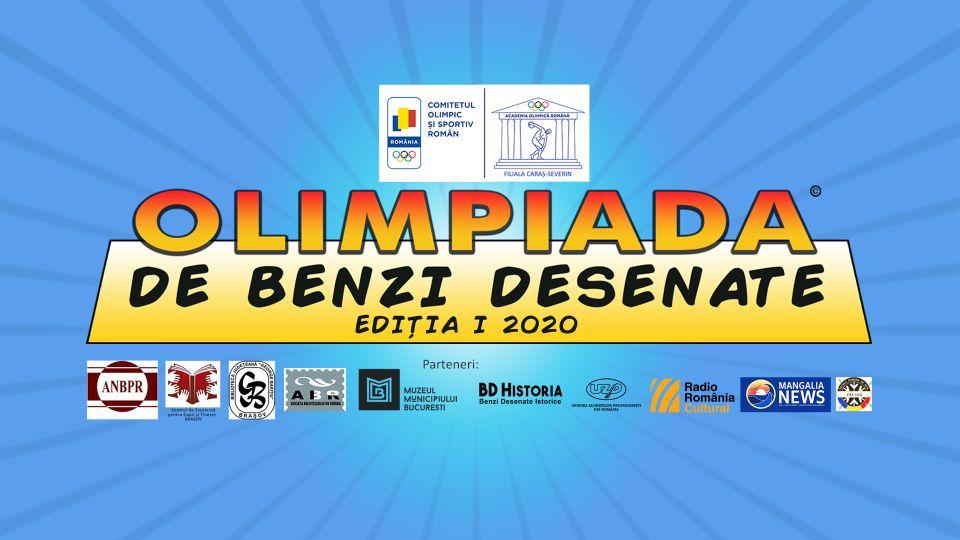 OLIMPIADA DE BENZI DESENATE – Ediția I