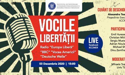 """Conferința """"Vocile libertății: Radio """"Europa Liberă"""", """"BBC"""", """"Vocea Americii"""", """"Deutsche Welle"""""""