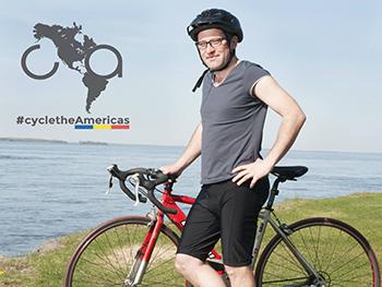 Un român din Montreal vrea să cucerească America pe bicicletă