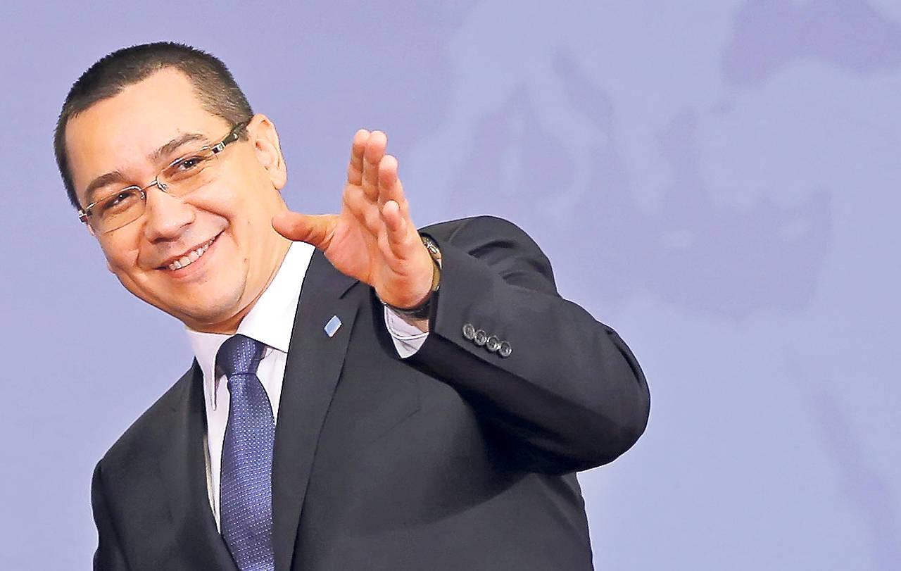 Victor Ponta se furişează spre finalul mandatului