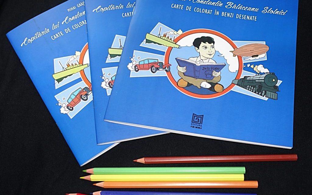 """Lansarea cărții de colorat în Benzi Desenate """"Copilăria lui Constantin Bălăceanu Stolnici"""""""