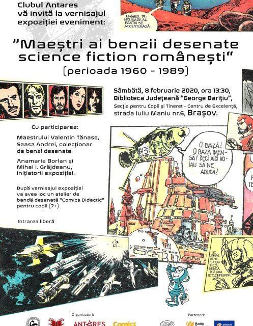 """Maeștri ai benzii desenate science – fiction românești"", perioada 1960-1989"