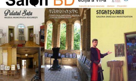 Salonul BD – Povești din București în benzi desenate (ediția a VII-a) se poate vizita și în luna septembrie!