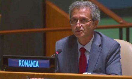 Intervenția ambasadorului României la ONU la dezbaterea generală a Comisiei a III-a  a Adunării Generale