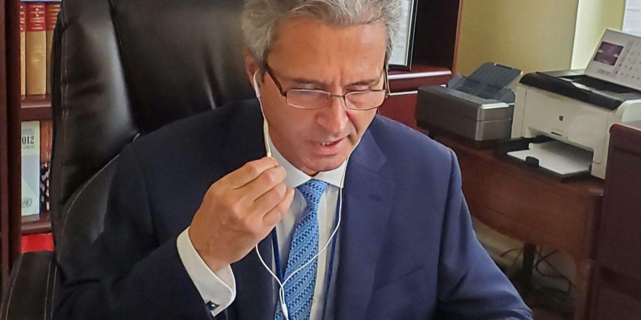 Intervenția ambasadorului României la ONU în cadrul dialogului interactiv cu  Înaltul Comisar ONU pentru refugiați