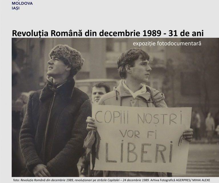 """Expoziția foto-documentară """"Revoluția Română din Decembrie 1989 – 31 de ani"""""""