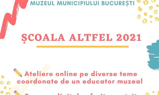Oferta Muzeului Municipiului București pentru Școala Altfel 2021