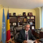Participarea Reprezentantului Permanent al României la ONU  la reuniunea de informare privind activitatea Lancet COVID-19 Commission New York, 6 aprilie 2021