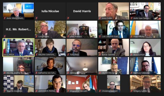 """Participarea Reprezentantului Permanent al României la ONU la evenimentul   """"Purim of Carpentras"""", organizat de Forumul pentru Diplomație Culturală"""