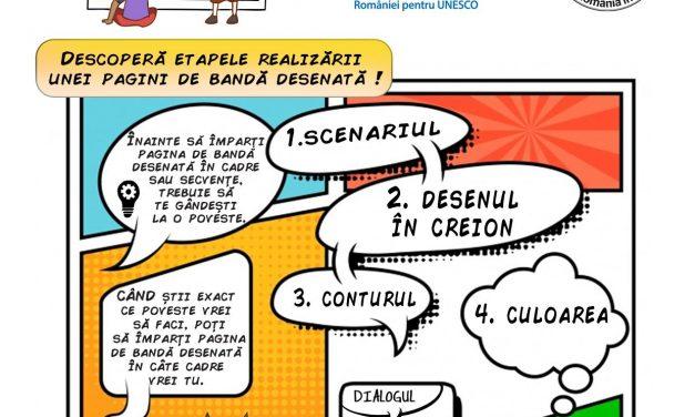 CNR UNESCO: Concurs de Benzi Desenate dedicat marelui sculptor Constantin Brâncuși