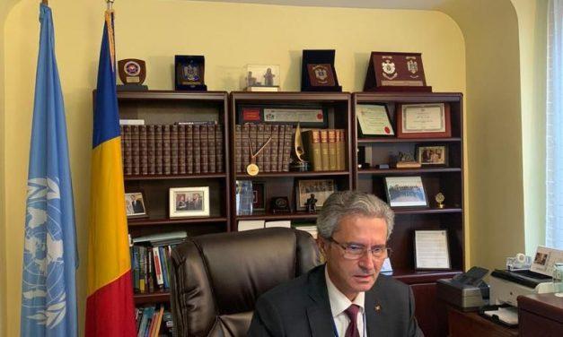 Reprezentantul Permanent al României la ONU, ambasadorul Ion I. Jinga, a prezidat ceremonia de acordare a Premiului ONU pentru Populație pentru anul 2021