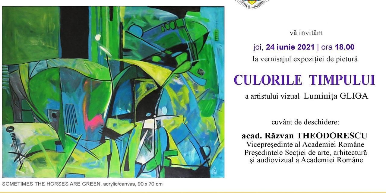 Expoziția CULORILE TIMPULUI