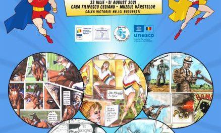 EXPOZIȚIE – OLIMPIADA DE BENZI DESENATE, Ediția II, 2021