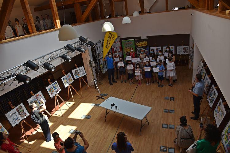 Olimpici ai benzii desenate, premiaţi la Casa Filipescu Cesianu