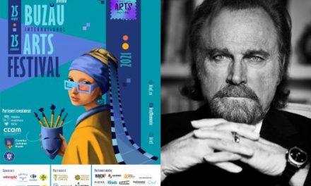 Actorul Franco Nero, invitat special al Buzău International Arts Festival