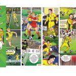 O carte BD eveniment, desenată cu har artistic: România la EURO